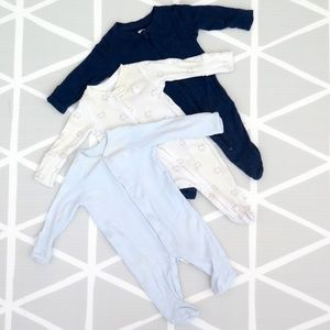 3 for $10! - baby boy sleepers